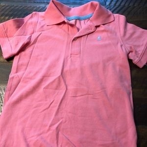 Carter's Boys pink polo short sleeve size 5